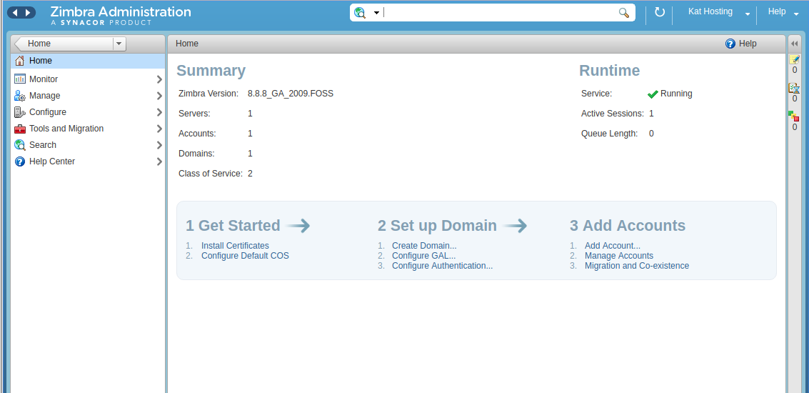 zimbra download for centos 7