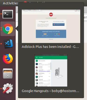 Ubuntu Google Hangout Icon