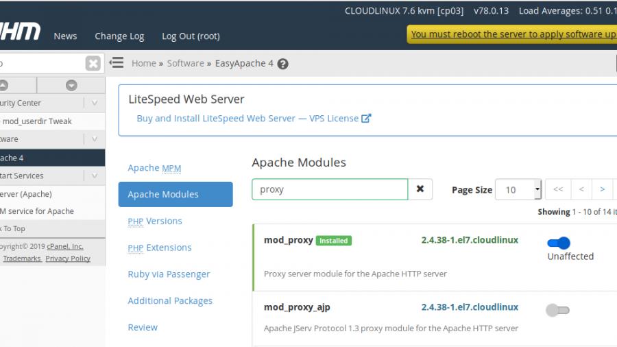 Apache mod_proxy