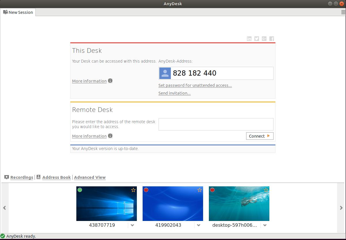 AnyDesk ubuntu flatpak