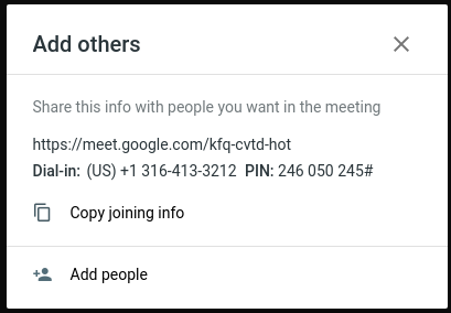 Google Meet – ServerOK
