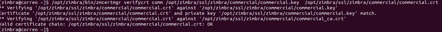 Zimbra SSL
