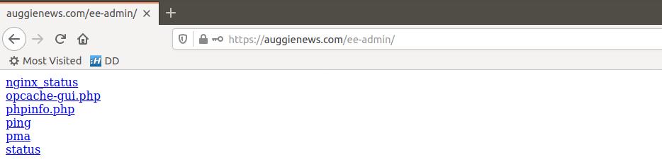 EasyEngine Admin Tools