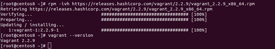 install vagrant on centos