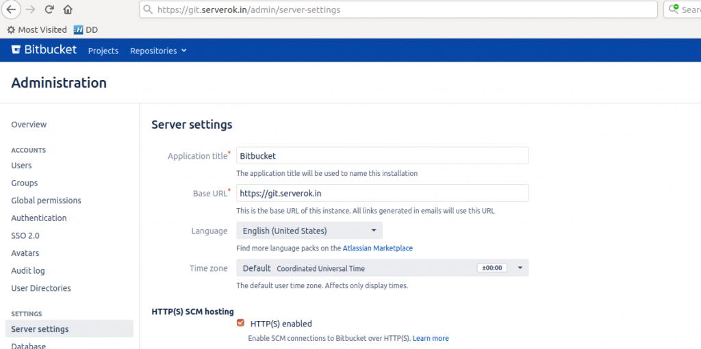 bitbucket server