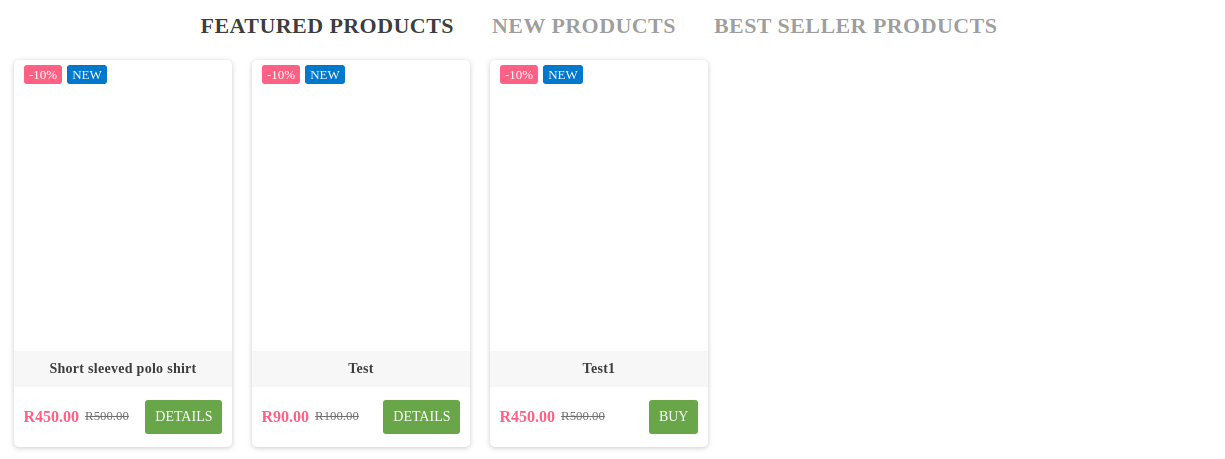 PrestaShop Product Image missing