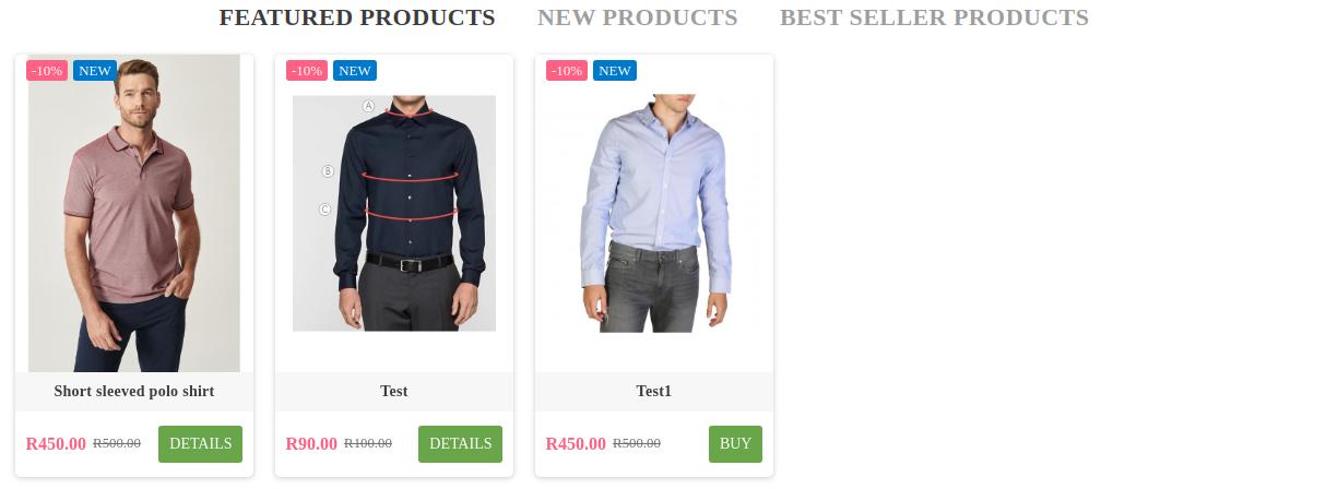 PrestaShop Product images