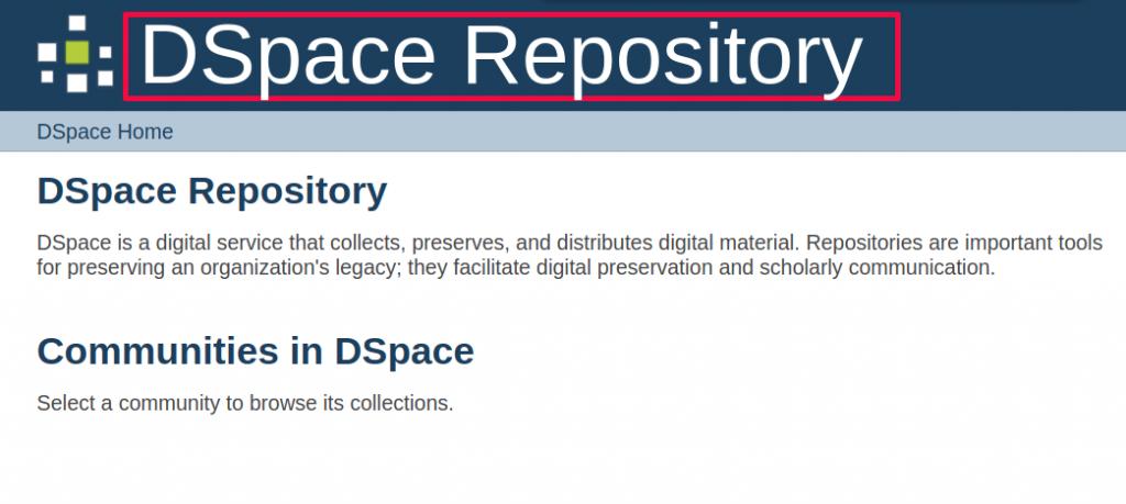 DSpace change xmlui color