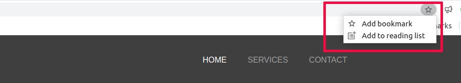 Chrome Bookmark reading list