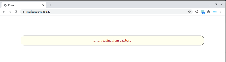 Moodle 3.2 PostgreSQL error